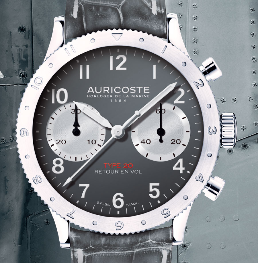 Auricoste Type 20 Flyback : pont d'envol