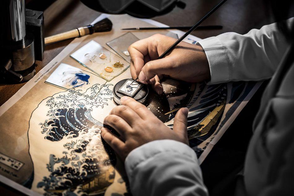 Jaeger-LeCoultre Reverso Tribute : hommage à Hokusai