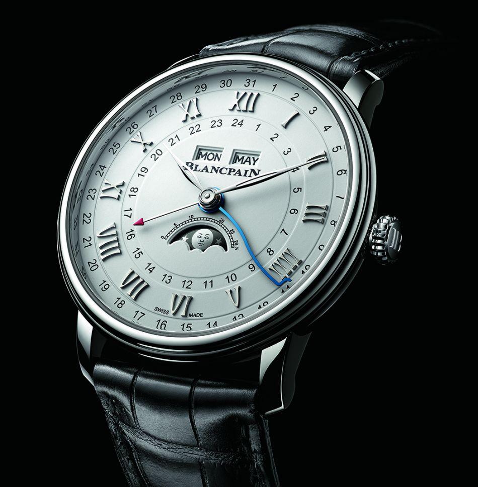 Blancpain Villeret Quantième GMT acier