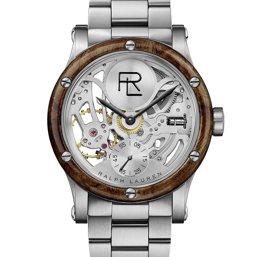 Ralph Lauren : lancement de son modèle Automotive squelette en acier