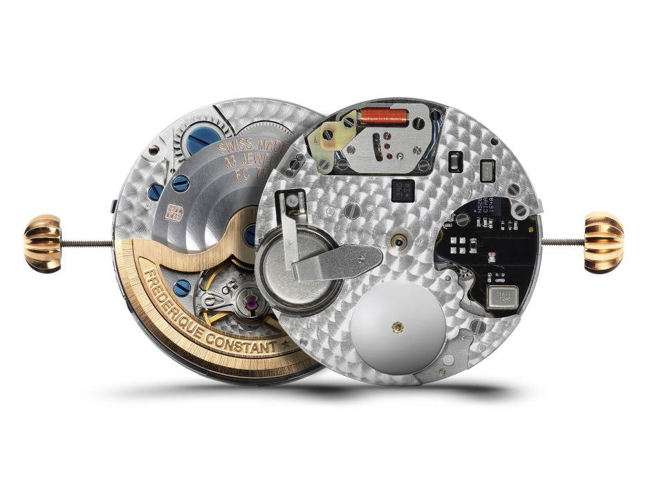 Frédérique Constant Hybrid Manufacture : montre mécanique ET connectée