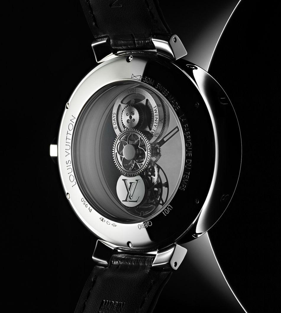Louis Vuitton Tambour Moon Mystérieuse Tourbillon Volant