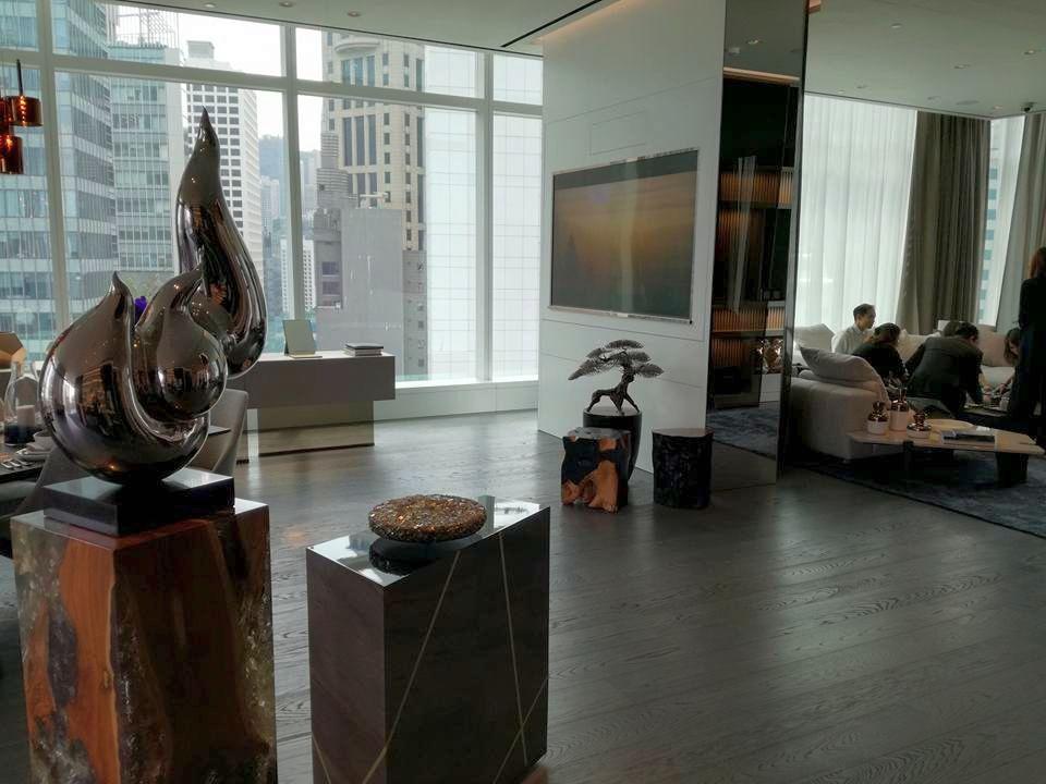 Audemars Piguet : un somptueux lounge-boutique en plein coeur de Hongkong
