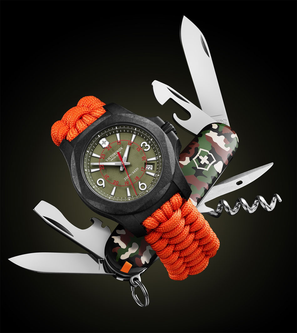 Victorinox I.N.O.X. Carbon Limited Edition : 1.200 exemplaires seulement