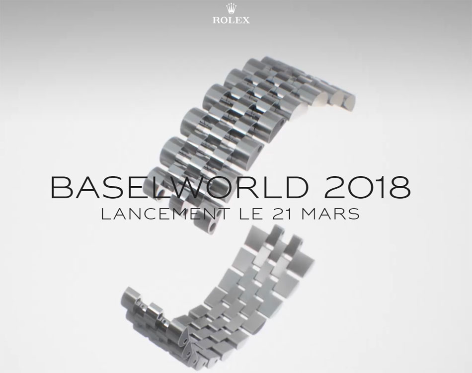 Une Rolex GMT Master II Coke sur Jubilé pour Baselworld 2018 ?