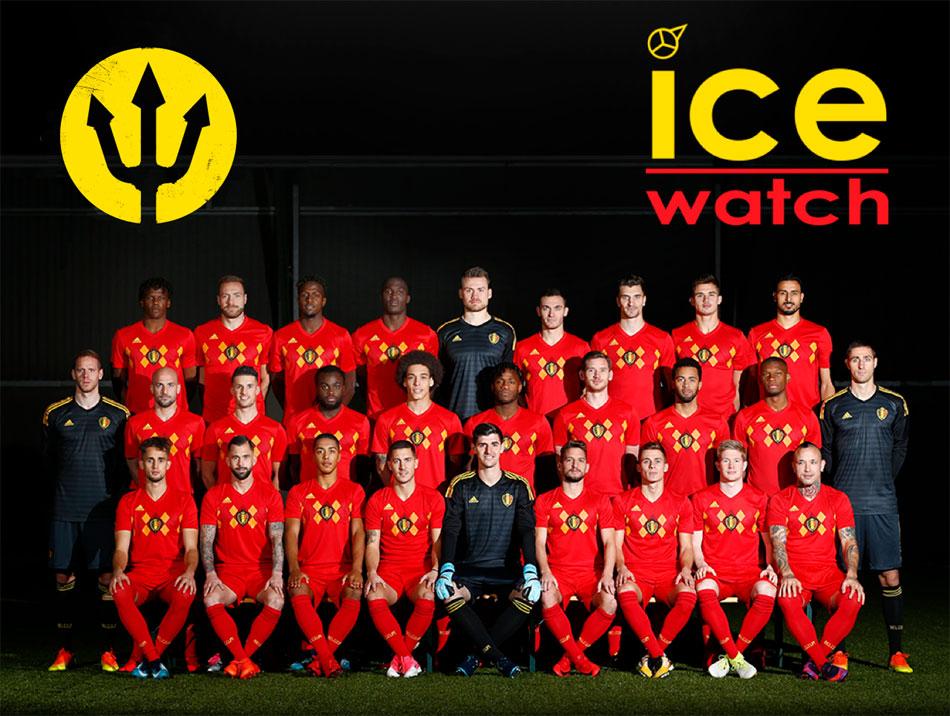 Ice-Watch : chronométreur officiel des Diables Rouges