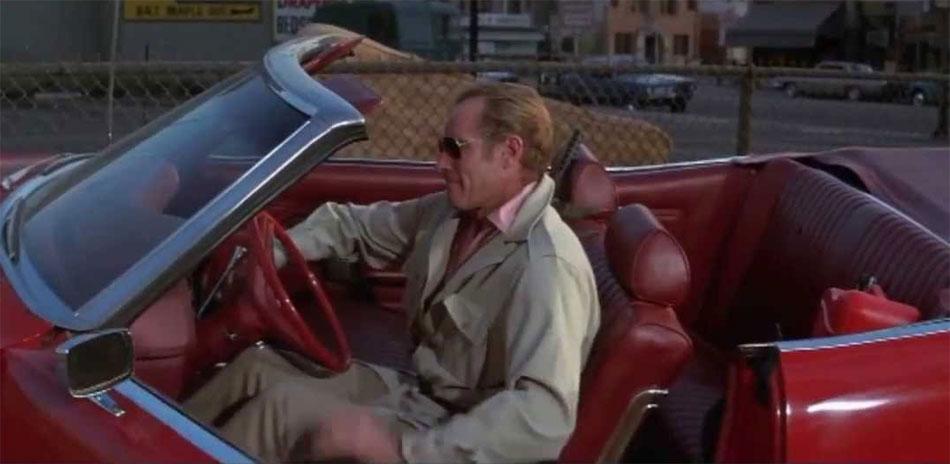 Le survivant : Charlton Heston porte une montre Omega en or