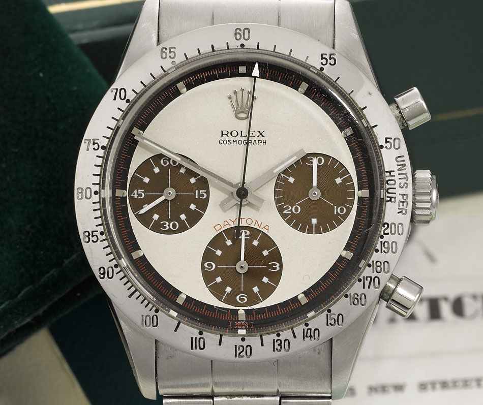 Sotheby's met en vente une Rolex Daytona 6239 cadran tropical
