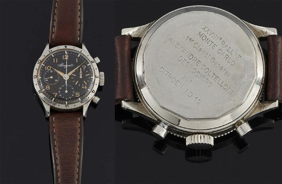 Le Musée Breguet s'offre le chrono Type XX du vainqueur du Rallye de Monte Carlo 1959