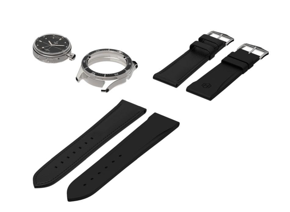 Hegid : la montre sportive modulaire
