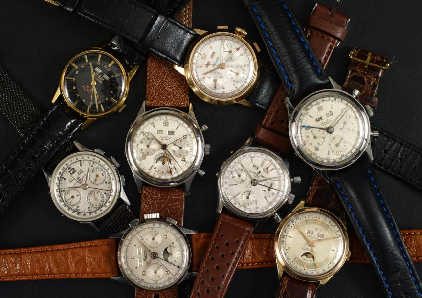 Cornette de Saint-Cyr : grande vente thématique triples calendriers-chronos anciens le 17 mai