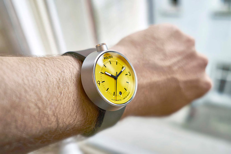 Bolido : de l'horlogerie suisse design et accessible