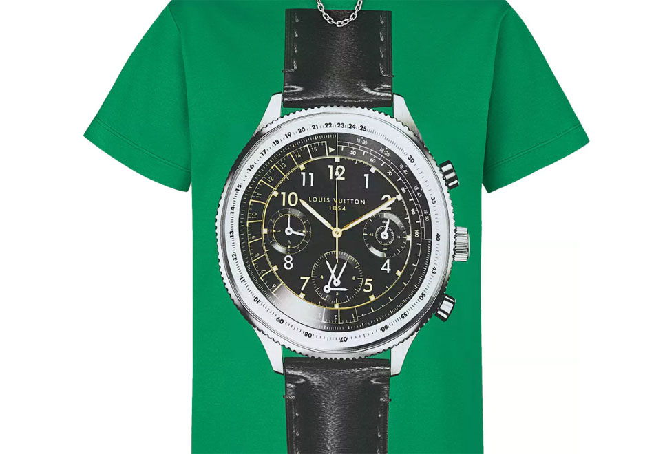 "Louis Vuitton : un t-shirt ""Watch oversized"""