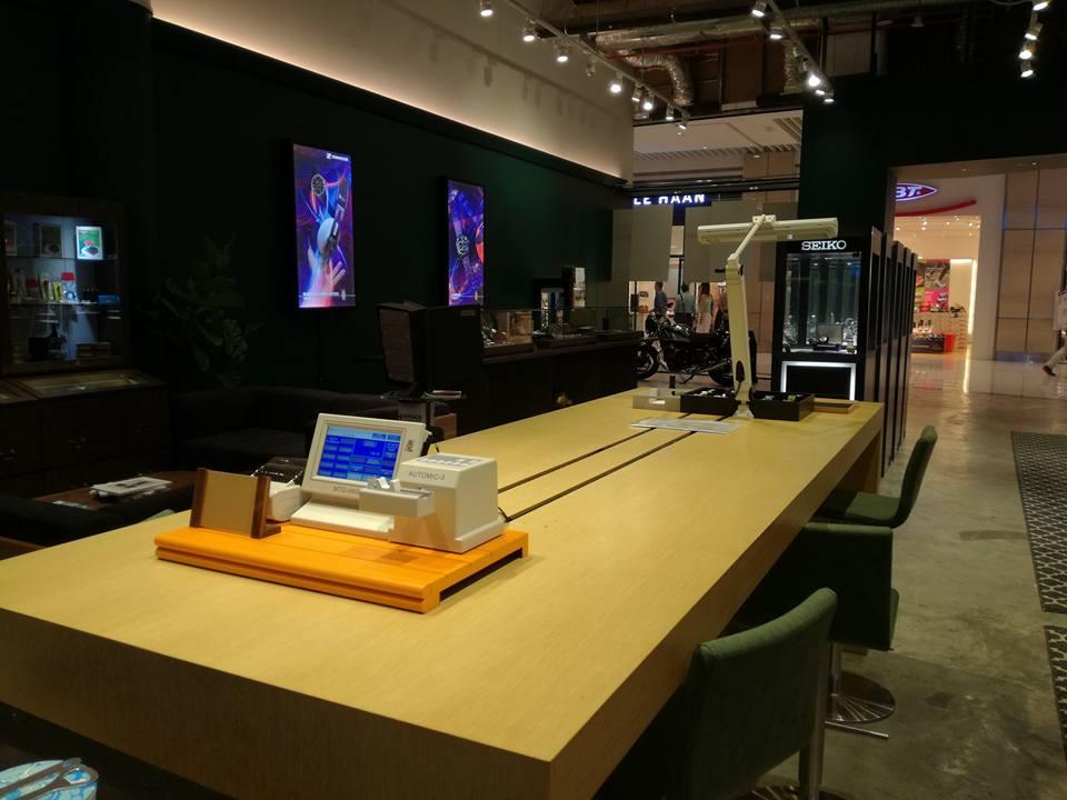 Watch Wonderland : un nouveau concept de magasin horloger à Singapour