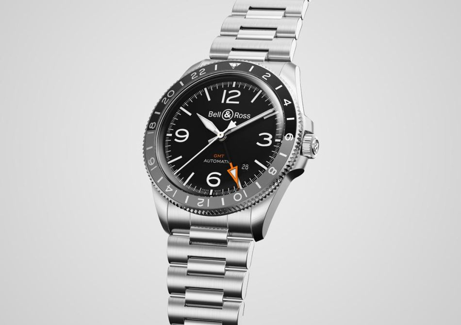 Bell & Ross BR V2-93 GMT : d'humeur voyageuse