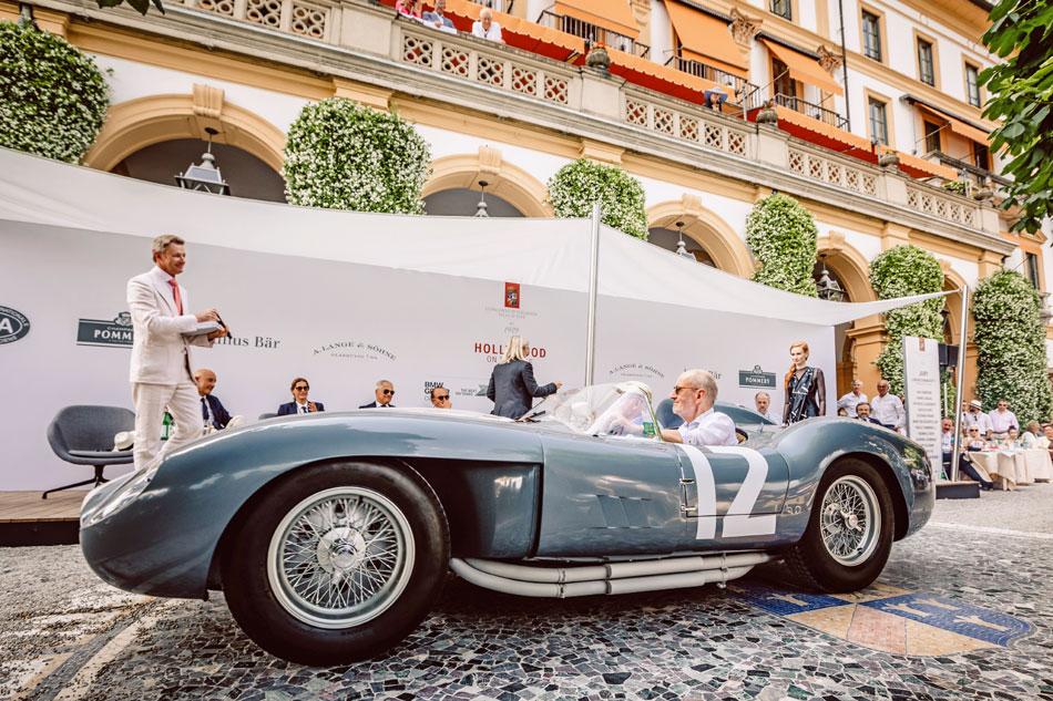 Concorso d'Elegenza 208 : une Ferrari 335 Sport de 1958 remporte la Lange 1 Time Zone