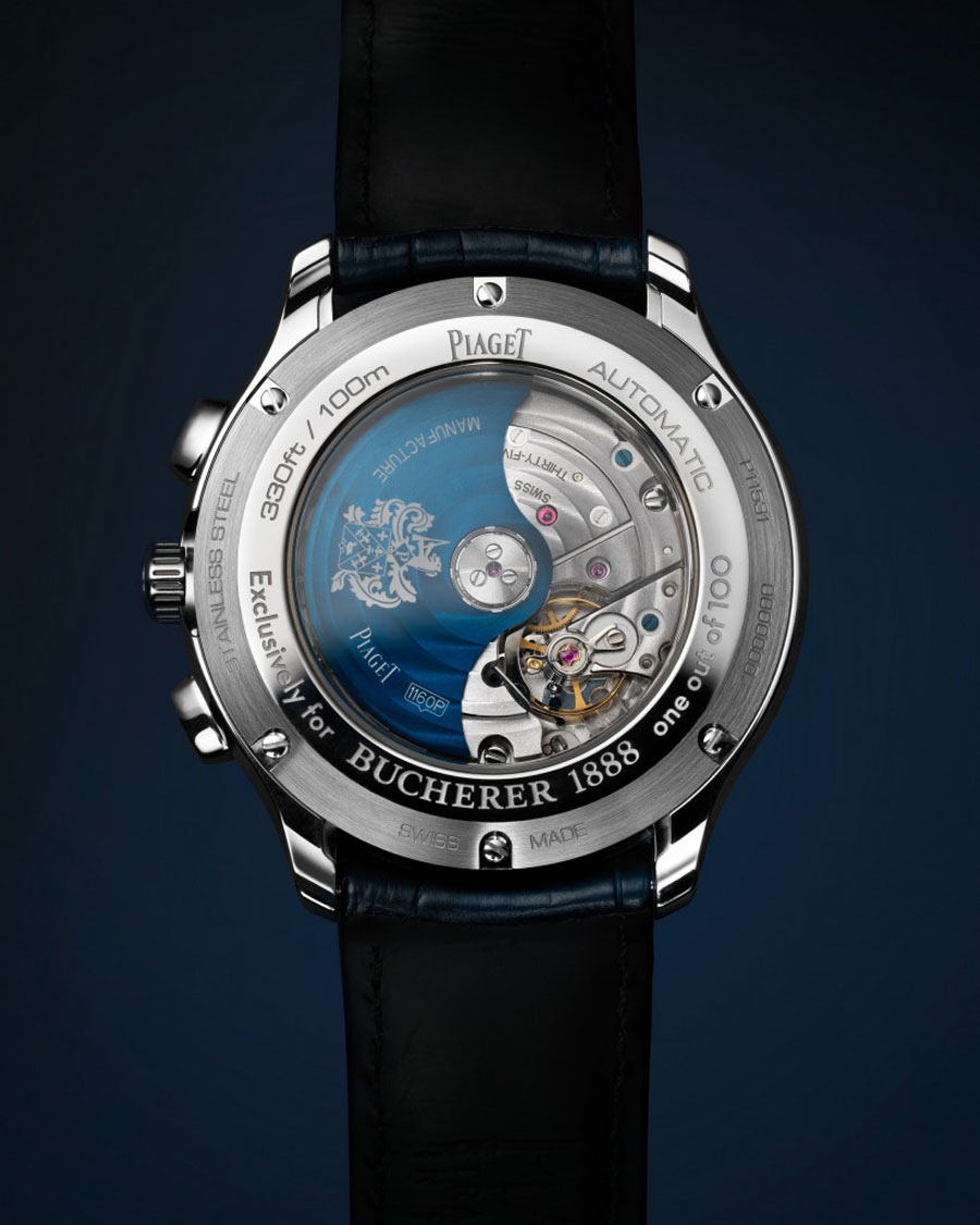 Bucherer : Piaget Polo S Blue Editions