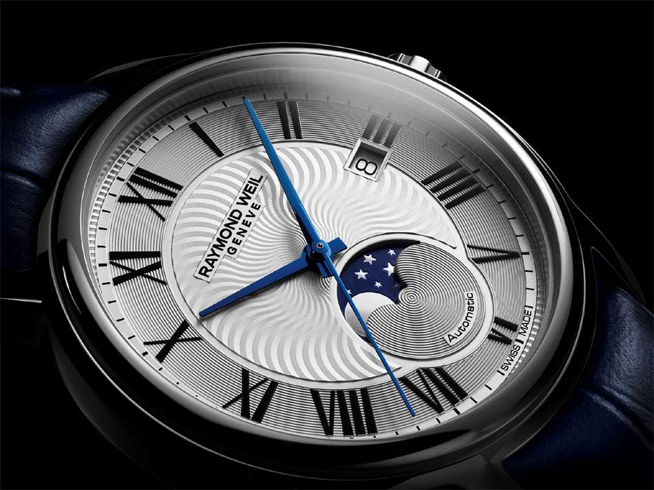 Raymond Weil Maestro phase de Lune : un intemporel classique