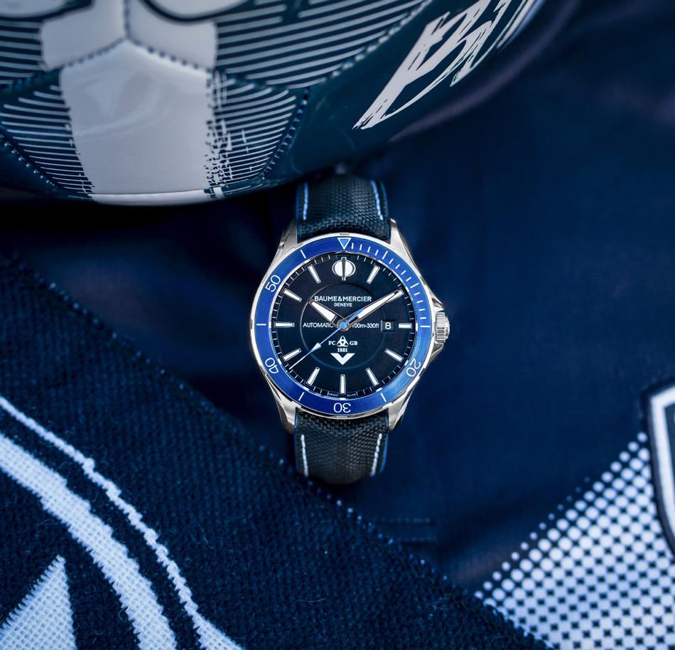 Baume & Mercier : la montre des Girondins de Bordeaux