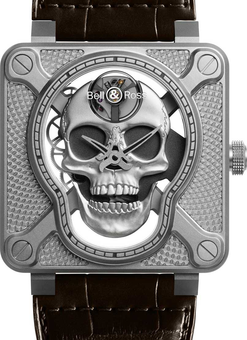 Bell & Ross BR01 Laughing Skull : futur collector... sans rire !