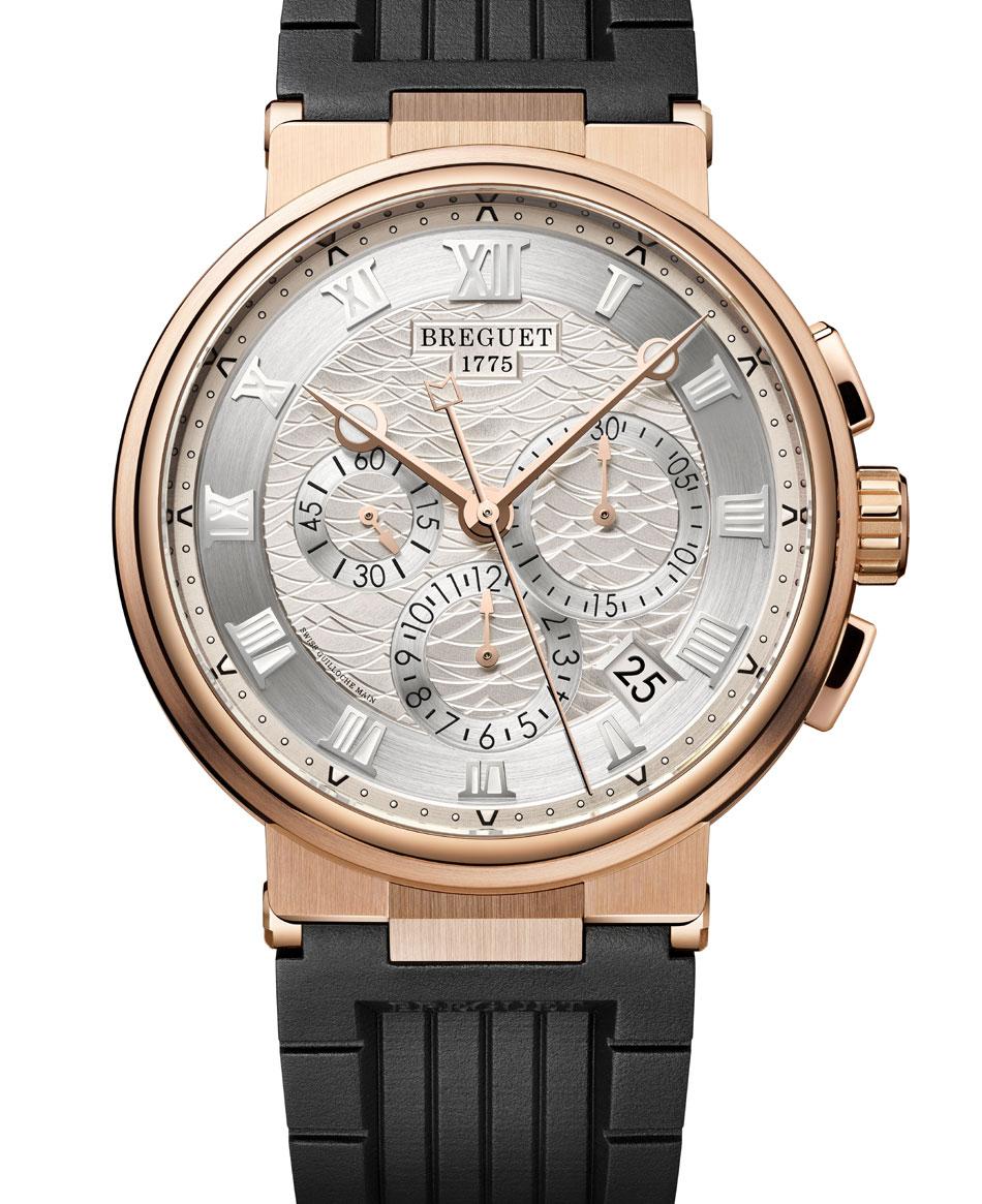 Breguet Marine chronographe 5527 : une version titane pour la première fois