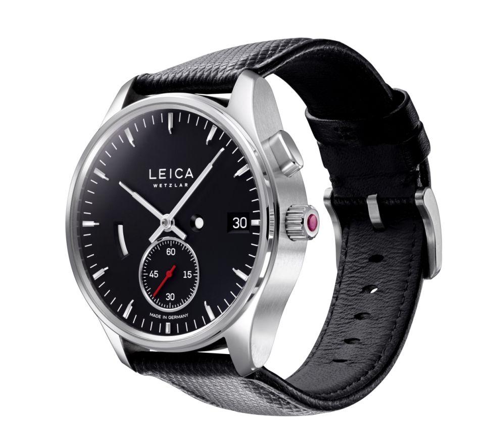 Leica se lance dans la mesure du temps