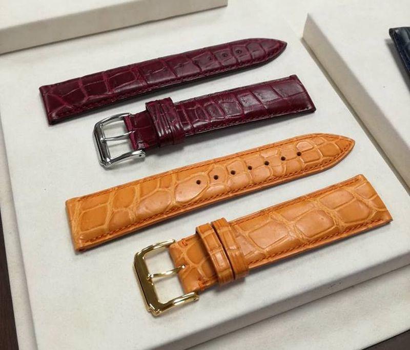 Japon : Premium Croco, toute une collection de bracelets en croco étanche