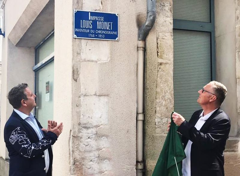 Louis Moinet : une rue porte son nom à Bourges, sa ville natale