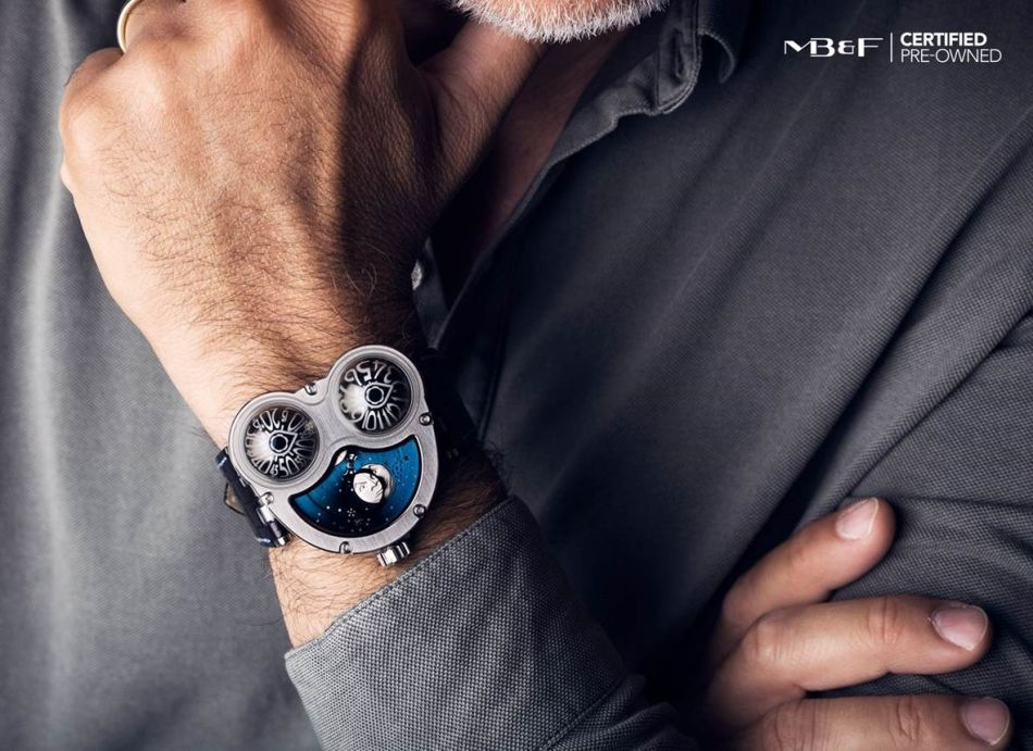 "MB&F se lance dans le ""pre-owned"" et l'assume. Bravo !"
