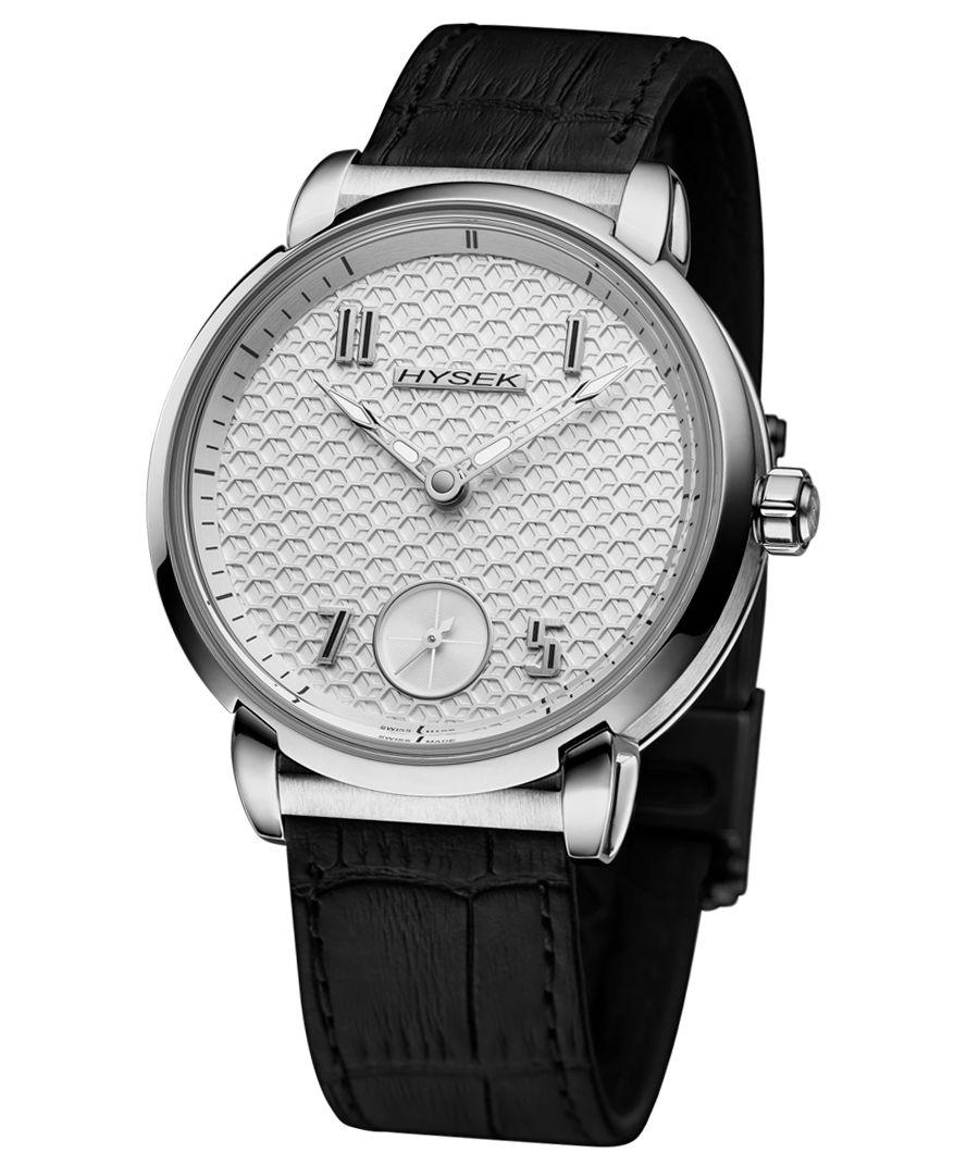 Hysek IO Automatique Manufacture : montre de ville sobre et décalée