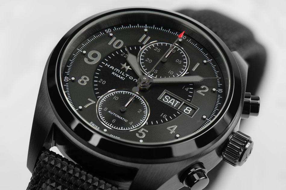 Hamilton Khaki Field Auto Chrono : la montre de Jack Ryan