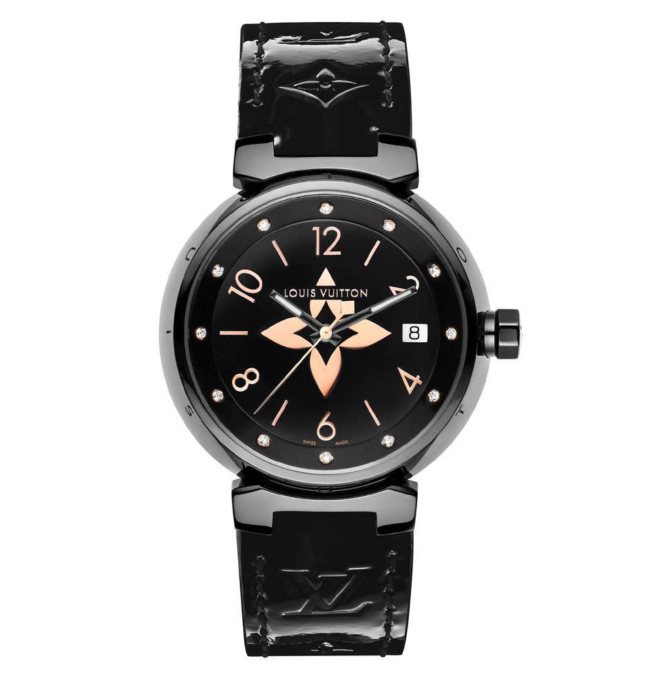 Tambour All Black and Gold : trois tailles pour femmes