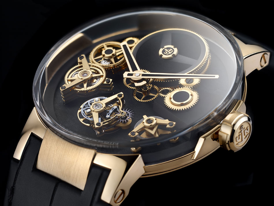 Ulysse Nardin Executive Tourbillon Free Wheel