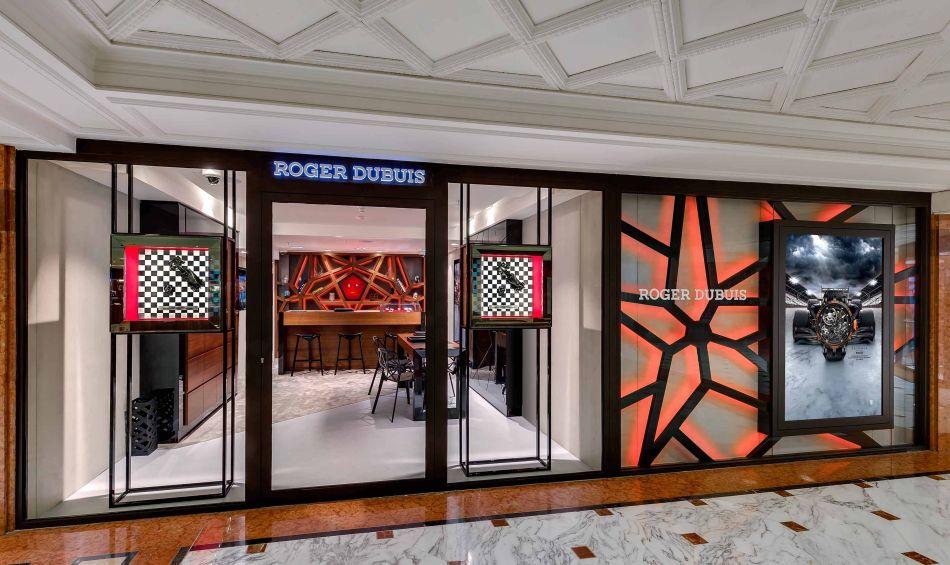 Roger Dubuis ouvre une nouvelle boutique à Monaco avec Arije