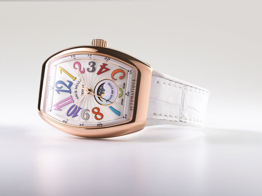 Franck Muller Vanguard Lady Moonphase