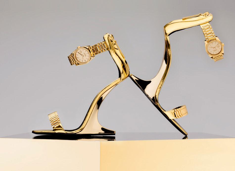 Christian Cowan : des chaussures très horlogères en collab' avec Giuseppe Zanotti