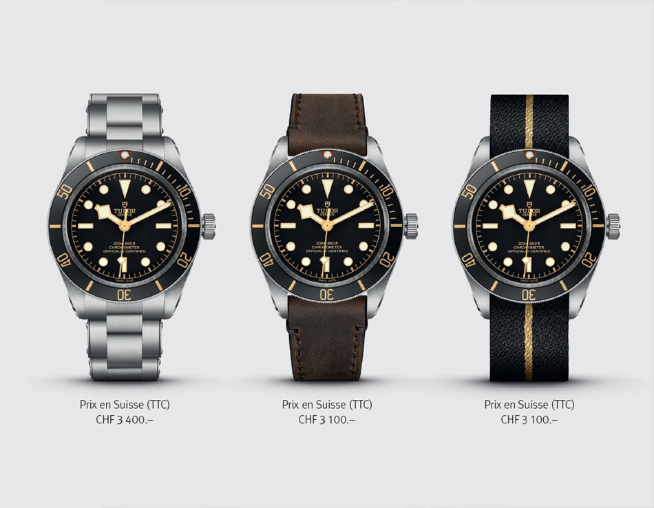 Tudor Black Bay Fifty-Eight : 39 mm, quand la taille compte...