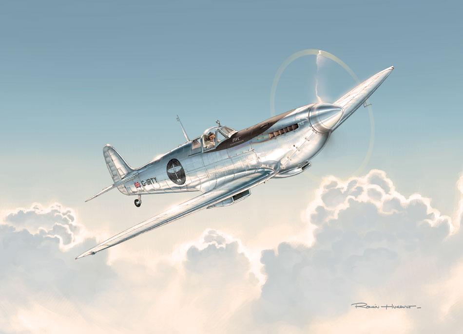 IWC, sponsor du tour du monde du Silver Spitfire