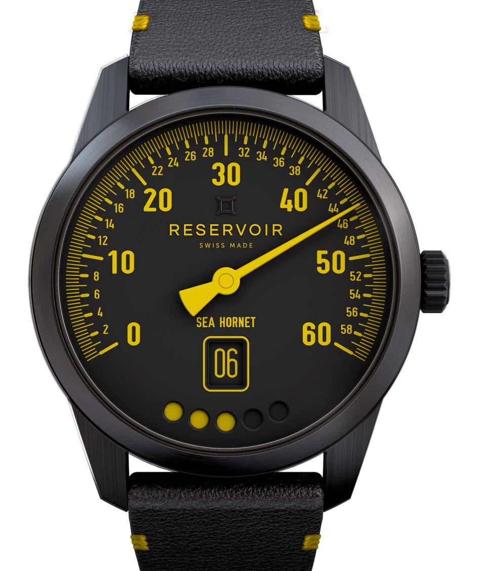 Reservoir Tiefenmesser : yellow submarine !