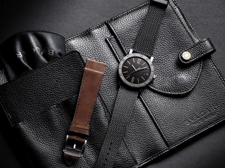 Bvlgari Bvlgari : la beauté du bronze associée à l'interchangeabilité des bracelets