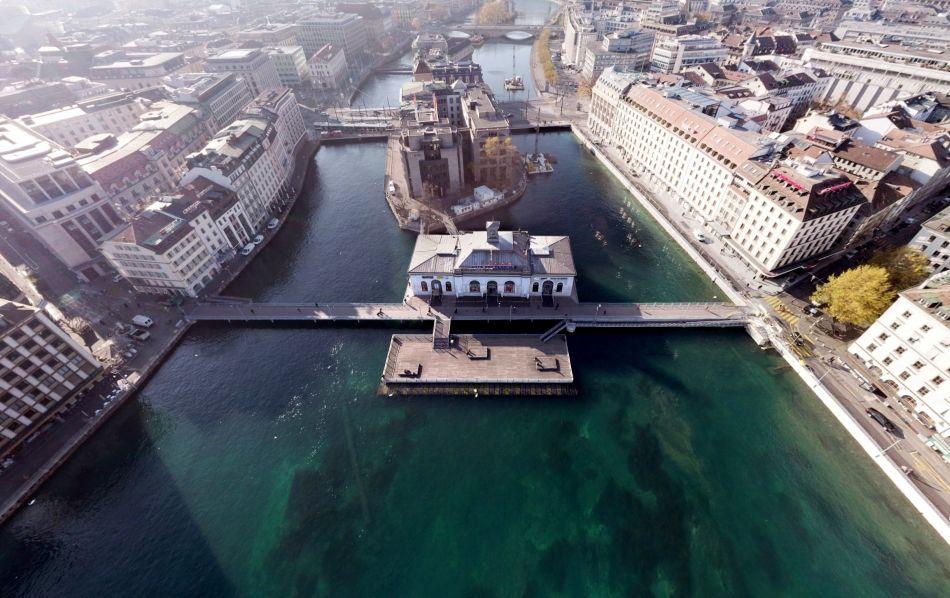 Genève : un pont, deux fondations