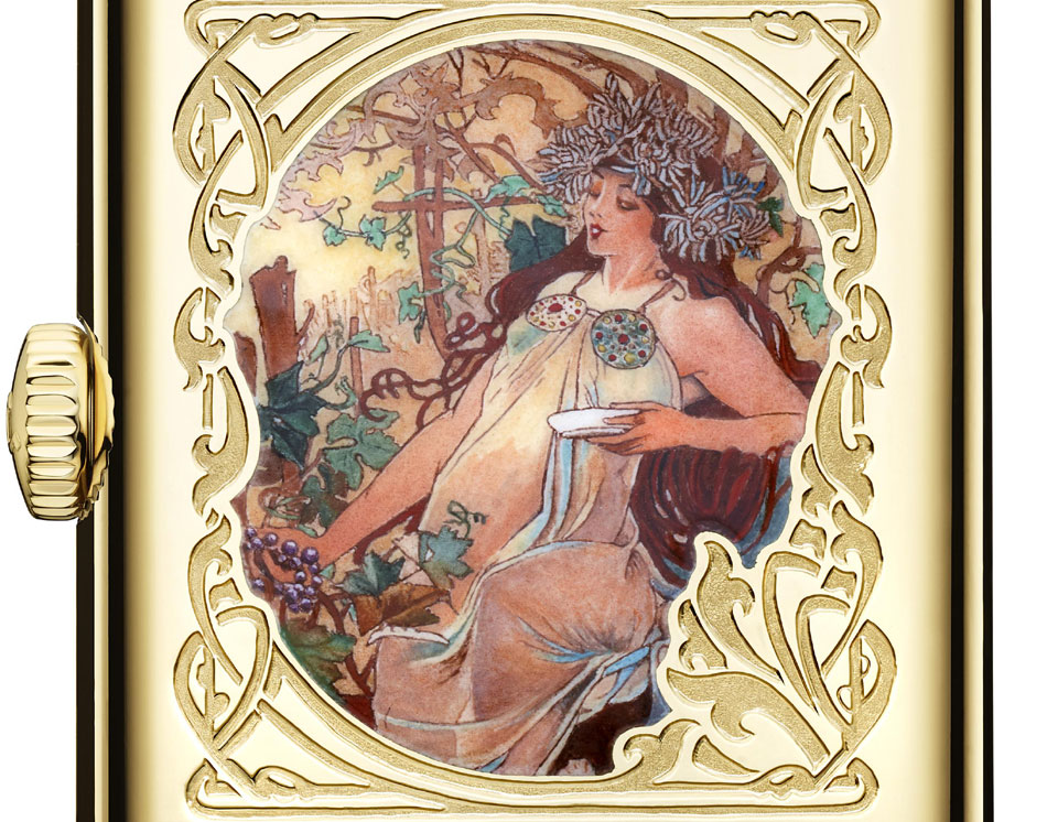 Reverso Tribute to Mucha