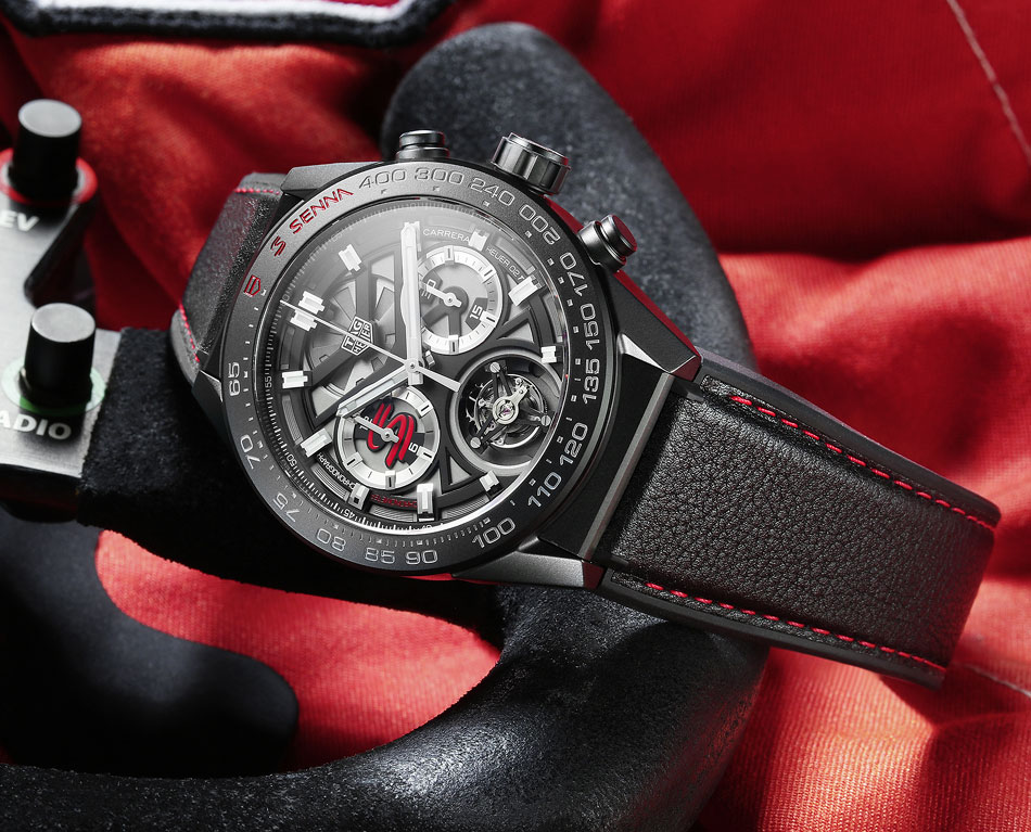 TAG Heuer Chrono Tourbillon Edition Ayrton Senna