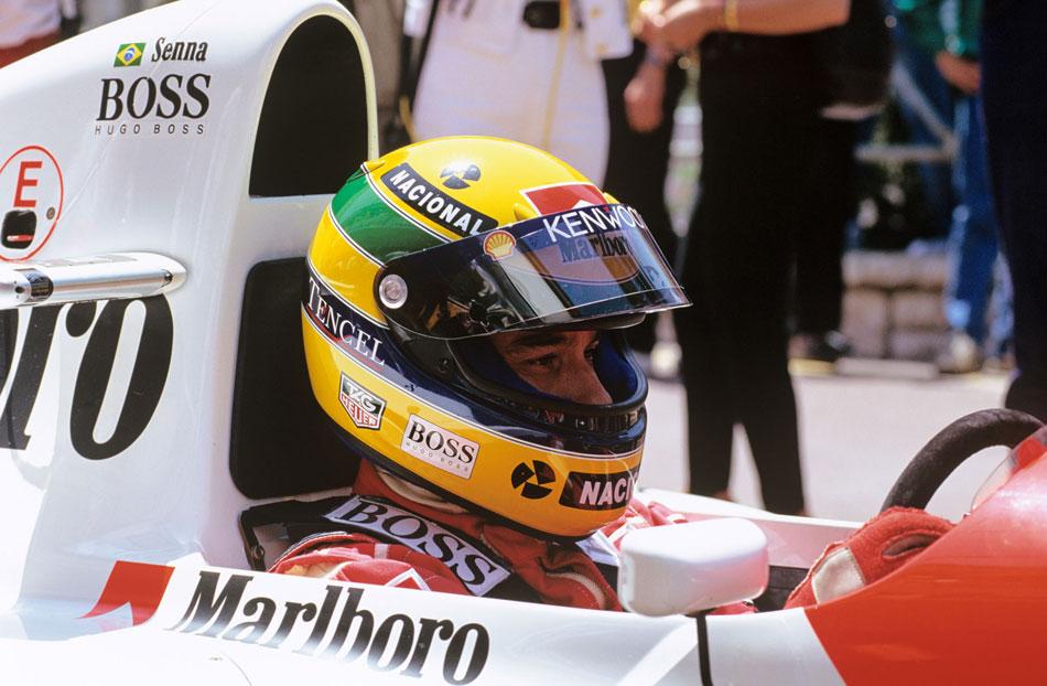 Ayrton Senna à Monaco