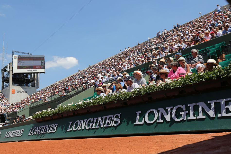 Roland Garros avec Longines
