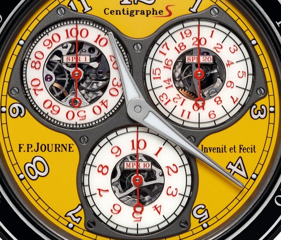 FP Journe Centigraphe Sport cadran jaune