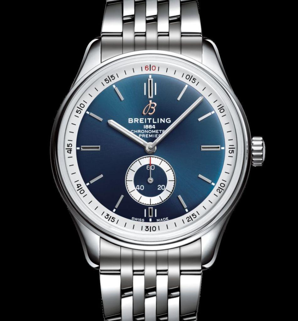 Breitling Premier Automatique 40 blue dial