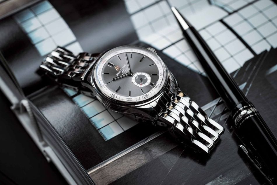 Breitling Premier Automatique 40 grey dial