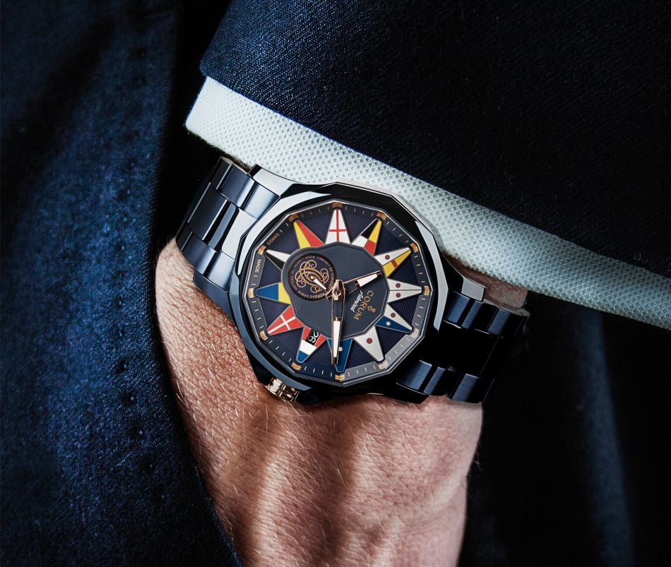 Corum Admiral Legend édition Crillon avec Thomas Erber