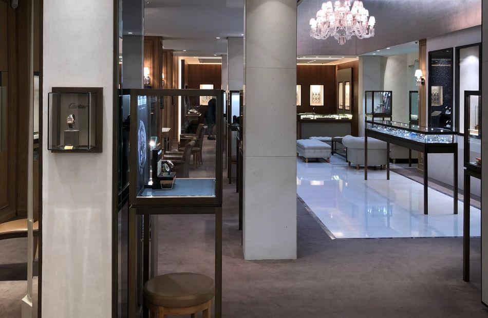 Dubail place Vendôme, intérieur